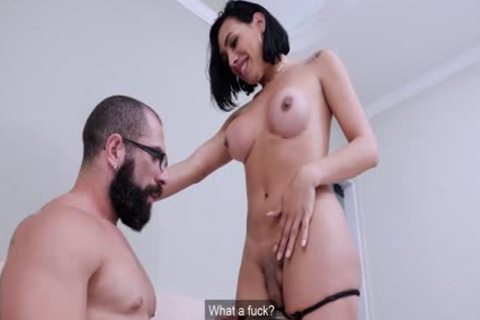 nasty First Time Sex With busty ladyboy babe
